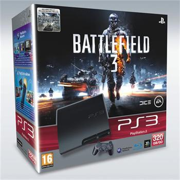 SONY PlayStation 3 320GB + Battlefield 3