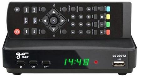 GoSAT Set-top box GS200DVBT2