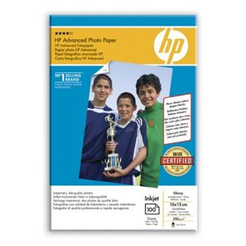 HP Q8692A Advanced Photo Paper Glossy - papír lesklý, 10x15cm, 250g/m2, 100 listů