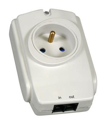 EMOS Přepěťová ochrana 1 zásuvka *P53893; 1909010000