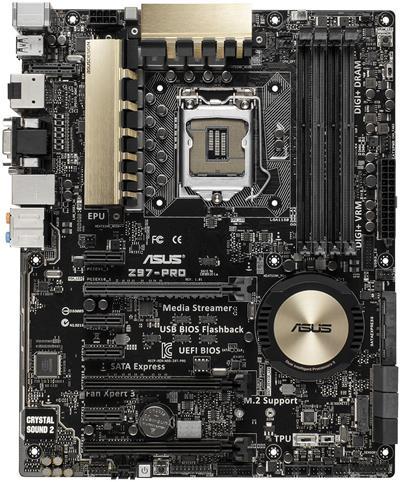 ASUS Z97-PRO; 90MB0I11-M0EAY0