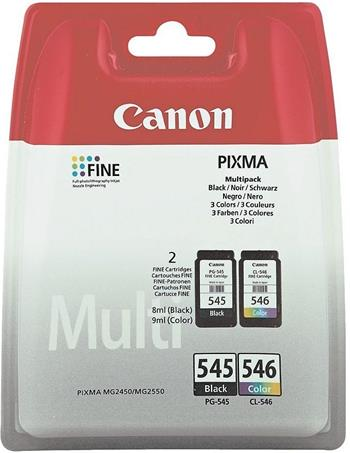 Canon BJ CARTRIDGE PG-545 / CL-546 (securited) - multipack; 8287B006
