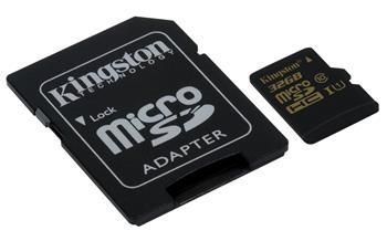 Kingston 32GB microSDHC UHS-I 90R/45W class 10