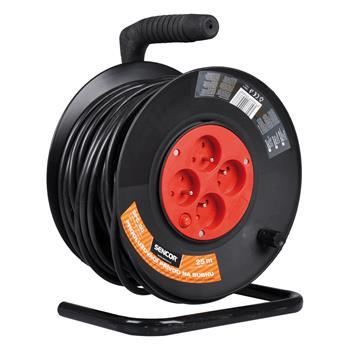 SENCOR SPC 50 Prodlužovací kabel na bubnu 25m 4 zásuvky; SPC 50