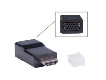 Gembird redukce HDMI-A(M)->VGA (F); A-HDMI-VGA-001