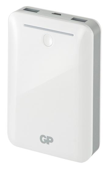 Záložní zdroj energie GP 10400mAh bílý