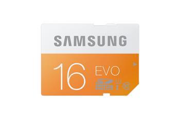 Samsung SDHC 16GB EVO Class 10; MB-SP16D/EU