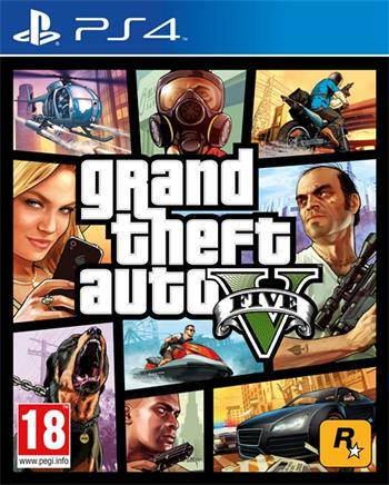PS4 Grand Theft Auto V (GTA 5); 5026555416993