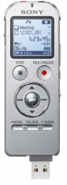 Sony ICD-UX533S,stříbrný; ICDUX533S.CE7