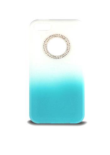 Ochranný kryt pro Apple iPhone 5\5S, bílý/modrý