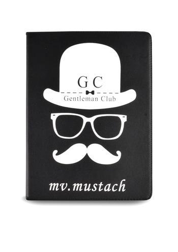 Ochranný obal pro Apple iPad, Mr. Mustach