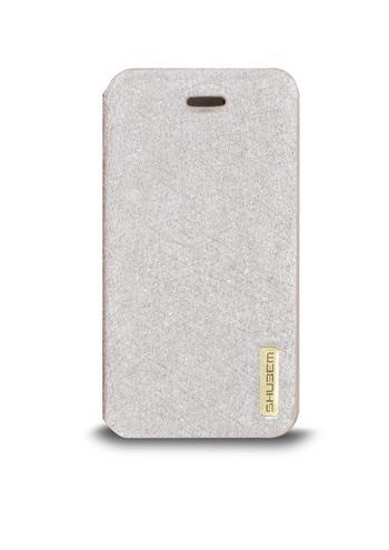 Ochranný kryt pro iPhone 5/5S, stříbrný, flip