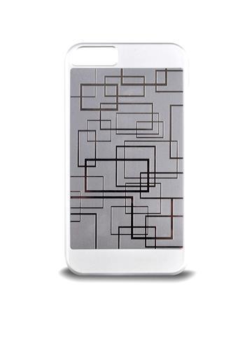 Ochranný kryt pro iPhone 5/5s, stříbrný