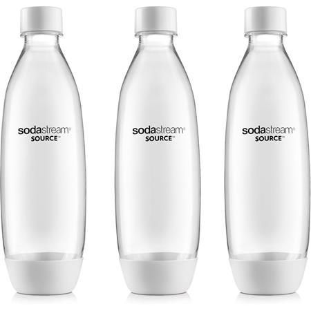 Sodastream Lahev FUSE 3Pack 1l bílá; 42001086