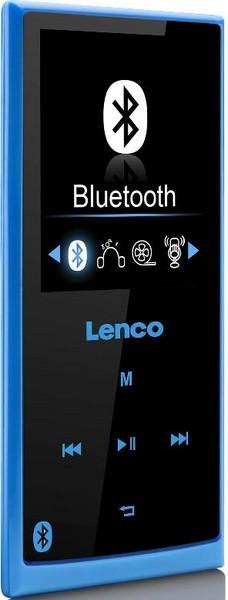 Lenco Xemio-760 modrá - přehrávač mp3/mp4. BT; lx760bl