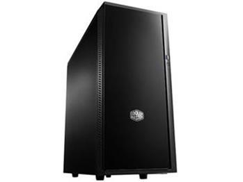 CoolerMaster case miditower Centurion Silencio 452, ATX,black, USB3.0, SD čtečka, bez zdroje, odhlučněný; SIL-452-KKN1