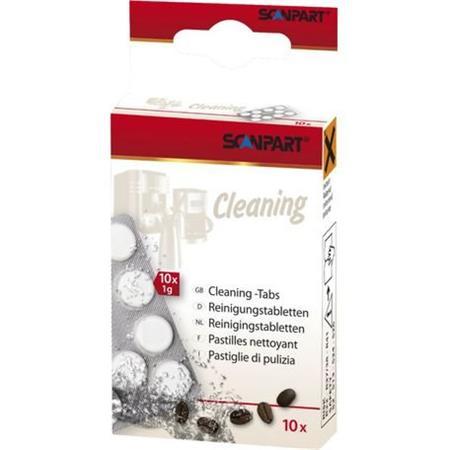 SCANPART - čistící tablety do kávovarů 10ks; 4012074276027