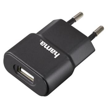 Síťová USB nabíječka, 5V/1A; 12151