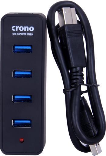 Crono USB HUB, 4 porty, USB 3.0