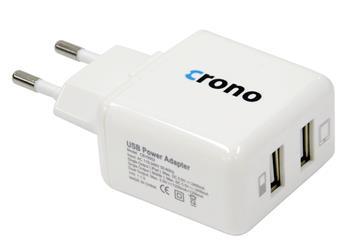 Crono univerzální USB nabíječka CB10052; CB10052