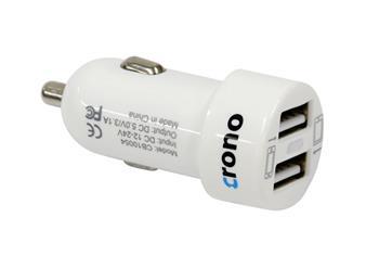 Crono univerzální USB auto nabíječka CB10054; CB10054