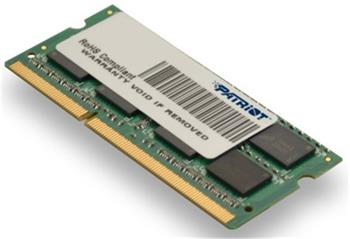 PATRIOT SO-DIMM 4GB DDR3 (1333MHz), CL9 DR