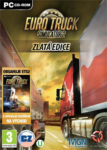 PC Euro Truck Simulator 2 Gold; 8592720121513