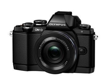 Olympus E-M10 + ED 14-42mm EZ černý; V207023BE000