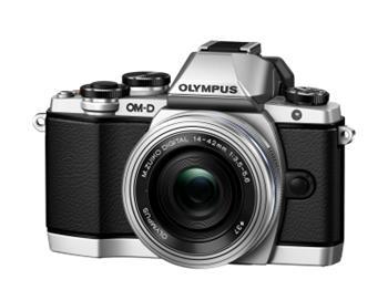 Olympus E-M10 + ED 14-42mm EZ stříbrný