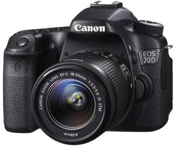 Canon EOS 70D +18-55 STM (8469B036)