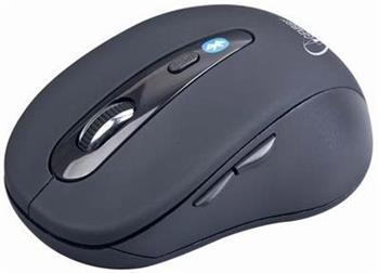 GEMBIRD MUSWB2 bezdrátová myš, bluetooth, USB, černá