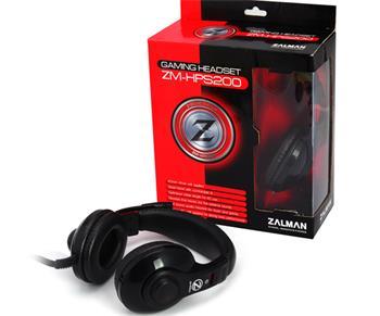 Zalman ZM-HPS200 , herní sluchátka s mikrofonem