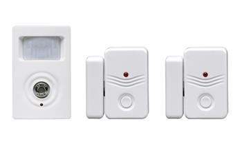 Solight doplňkový pohybový senzor, 2x okenní senzor pro GSM alarmy 1D11 a 1D12; 1D13