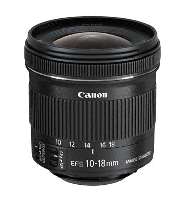 Canon EF-S 10-18mm f/4.5-5.6 IS STM; 9519B005