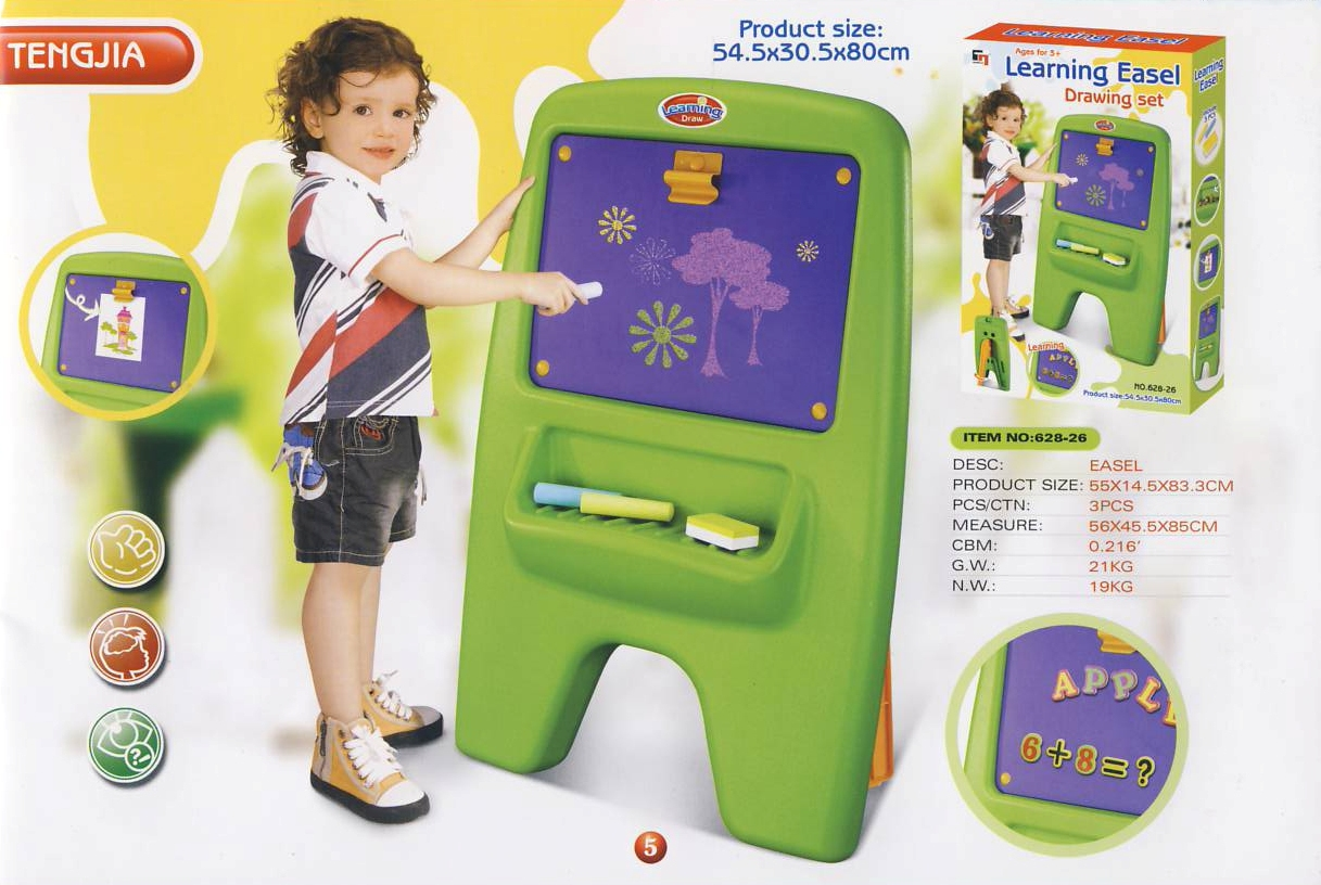 Dětská tabule G21 magnetická s klipem 690682; 628-26