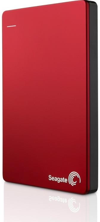 Seagate Backup Plus - externí HDD 2.5'' 1TB, USB 3.0, červený, kovový, SW