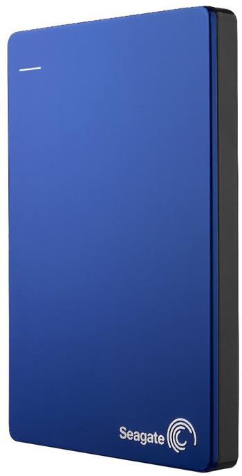 Seagate Backup Plus - externí HDD 2.5'' 2TB, USB 3.0, modrý, kovový, SW; STDR2000202