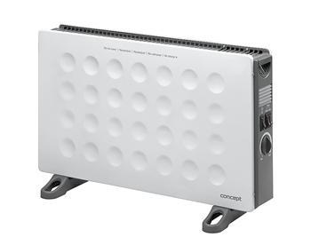 CONCEPT KS-3006 konvektor 2000 W s turbem a montáží na zeď bílý