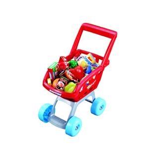 Hrací set G21 Dětská pokladna + nákupní vozík s příslušenstvím; HWA783759