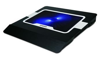 Crono CB156 aktivní chladící podložka pro notebook