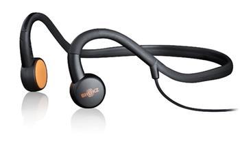 AfterShokz Sportz M3, sportovní sluchátka před uši, s mikrofonem