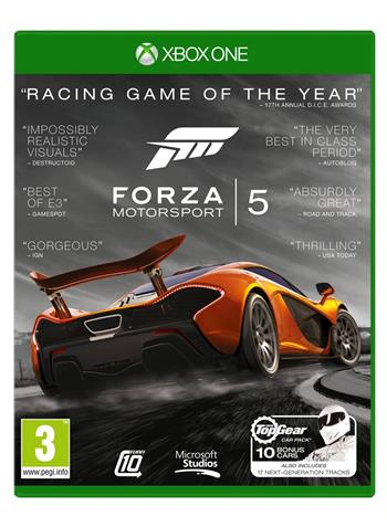 XONE Forza 5 Game of the year