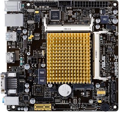 ASUS J1800I-C, MB s CPU; 90MB0J60-M0EAY0