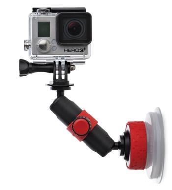 Joby Suction Cup&Locking Arm černá/červená; E61PJB01330