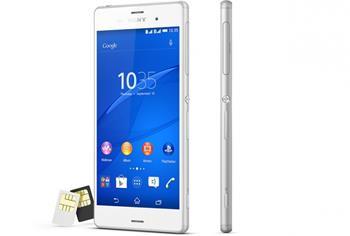 Sony Xperia Z3 Dual SIM D6633 bílý ; 1290-7982