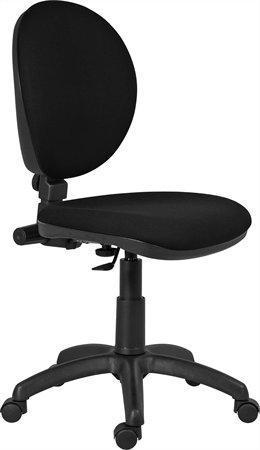 """Kancelářská židle, textilní, černá základna, VICTORIA """"Frankfurt"""", černá; 1460/MEK+ C11"""