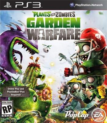 PS3 Plants vs. Zombies: Garden Warfare; EAP3482010