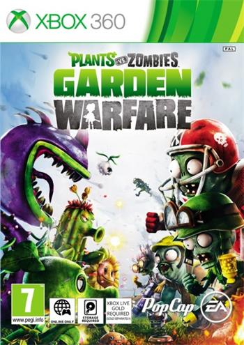 X360 Plants vs. Zombies: Garden Warfare ; EAX20780
