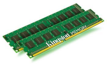 Kingston 8GB DDR3-1600MHz CL11 SR x8, kit 2x4GB