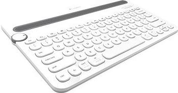 Logitech Bluetooth Multi-Device Keyboard K480, US, bílá